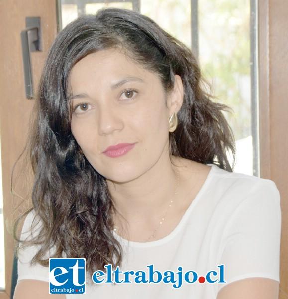 Silvana Maldini, coordinadora del Centro de Apoyo a Víctimas de Delitos CAVD San Felipe.