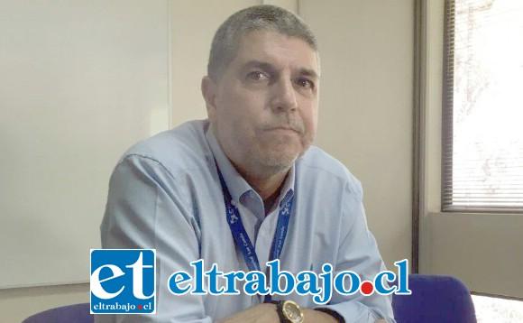 Ricardo Salazar Cabrera, ingeniero comercial, director del Hospital San Camilo de San Felipe.