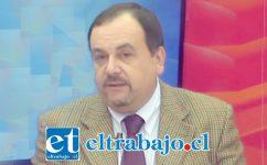 Omar Morales director regional del Registro Civil.