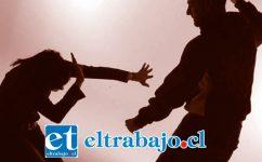 La denuncia por violencia intrafamiliar fue efectuada el 12 de mayo de este año en la población Yungay de San Felipe. (Imagen referencial).