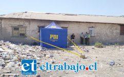 Las diligencias del hallazgo quedaron en manos de la Brigada de Homicidios de la Policía de Investigaciones de Los Andes.