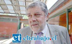 Boris Luksic Nieto, alcalde de Catemu.