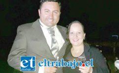 El cabo primero Luis Montoya Soto, oriundo de calle Herrera, quien falleció en la tragedia aérea del Hércules C-113 en el mar de Drake, junto a su esposa Caroline Carvacho, quien hoy vive la incertidumbre de no saber qué fue lo que realmente pasó ese trágico 9 de diciembre.