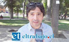 Claudio Gómez, abogado, secretario de la Corporación Región Aconcagua.