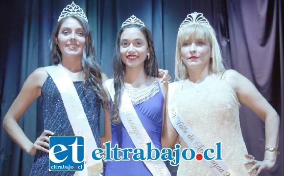 NUESTRAS BELLEZAS.- Ellas son las soberanas del Miss Valle del Aconcagua 2020: Miss Valle de Aconcagua para la joven Alexa Chamorro, Miss Teenager la ganó la bella jovencita Melany Gorri, y en la categoría MILF la despampanante Elizabeth Sanhueza.