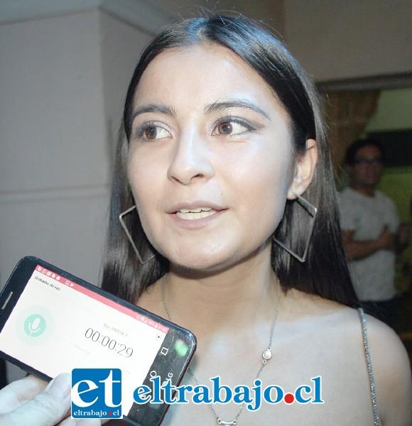 Belén Ortiz, guía y preparadora de las participantes.