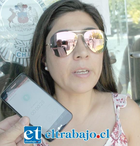 Érika Segura, una de las estafadas por 'El Duende' Contreras.
