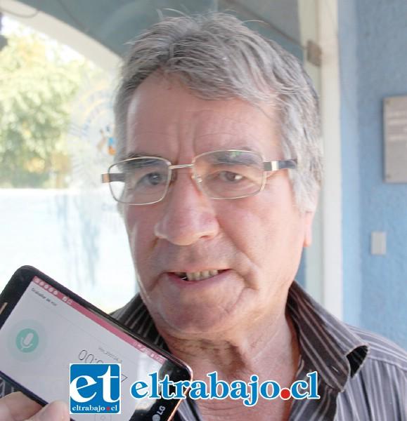 Hernán Subicueta, otro afectado por este mecánico.