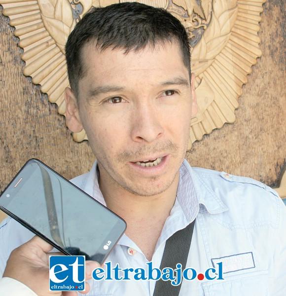 Dueño de la propiedad donde está este 'deshuesadero' disfrazado de taller, Sergio Toro