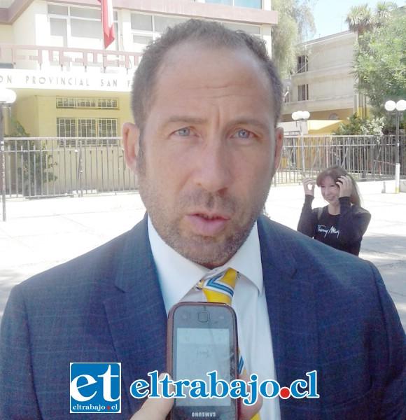 Guillermo Claverie Bravo, abogado de los extrabajadores temporeros.