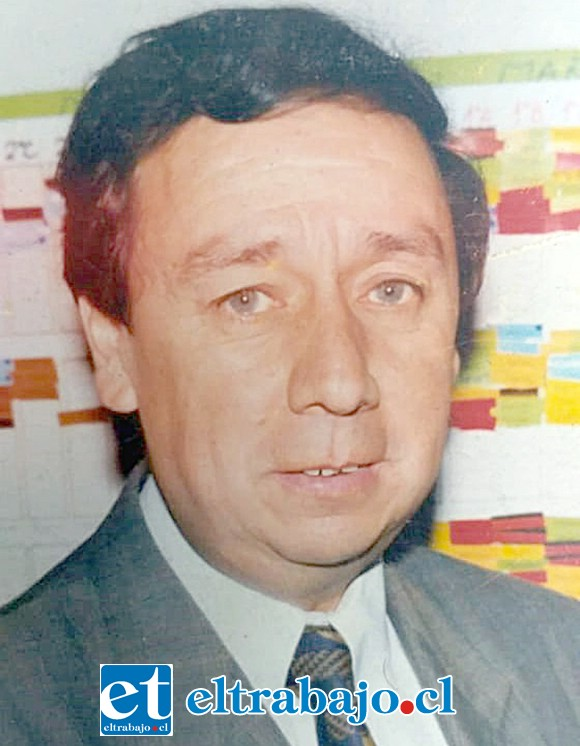 ADIÓS PROFE.- Profesor aconcagüino Joaquín Enrique Porta Calderón (El Señor Porta), falleció a la edad de 74 años.