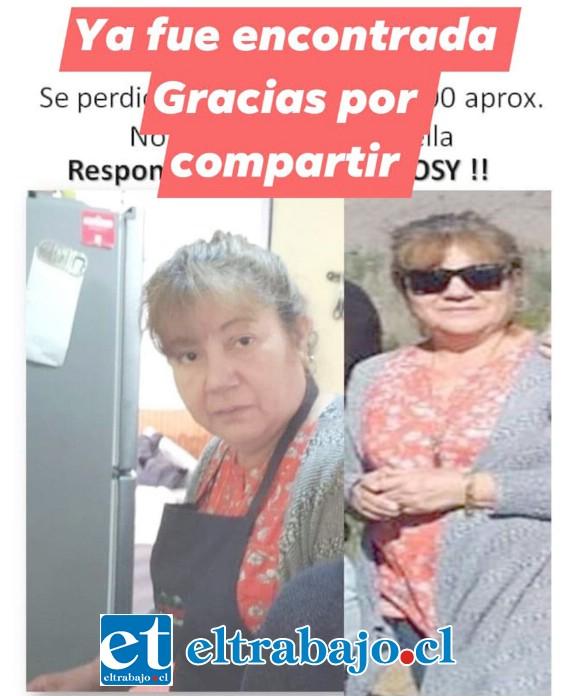 Acá el afiche donde se indica que fue encontrada.