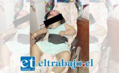 SE AGRADECE LA AYUDA.- La pequeña Nelliel Galdames necesita urgentemente de su pequeña silla. En la gráfica vemos la silla. (Foto publicada con autorización de sus padres)