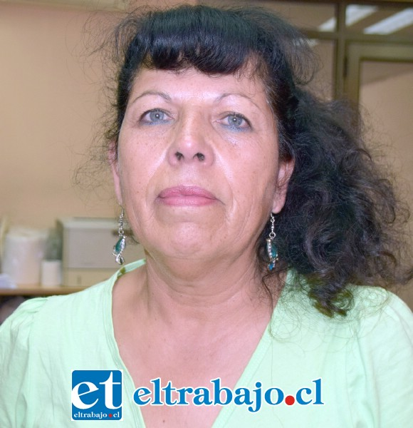 Georgina Núñez, madre de la joven afectada.