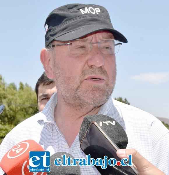 Alfredo Moreno Charme, ministro del MOP.