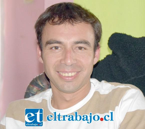Mauro Mondaca, presidente de Juventud La Troya.