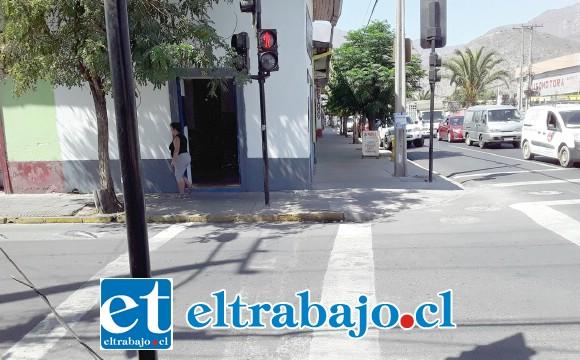 En este lugar fue donde un delincuente en bicicleta asaltó a una ciudadana boliviana mientras amamantaba a su bebé.