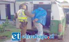 El antisocial fue detenido el 24 de enero de 2019 por Carabineros de la comuna de Llay Llay. (Foto referencial).