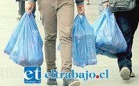NO MÁS BOLSAS.- En San Felipe desde hace meses que también se implementan medidas para frenar el uso comercial de las bolsas plásticas.