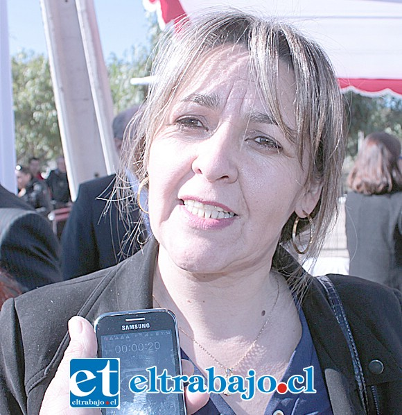 Delegada biprovincial del Serviu, Patricia Boffa.