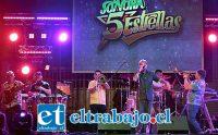 La Sonora 5 Estrellas llenó de cumbia la segunda noche de la Chaya en Putaendo, y la fiesta continúa.