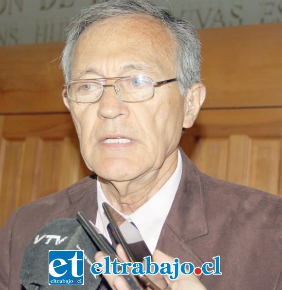 Guillermo Orellana, director de Tránsito de San Felipe.