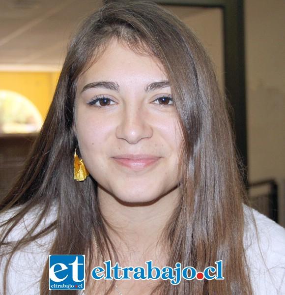 Camila Vera, encargada de comunicaciones de Proyecto Reinserción San Felipe.