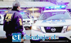 UNA TRAGEDIA.- Personal especializado del Servicio Médico Legal se hizo cargo del cuerpo de Héctor Henríquez. (Referencial)