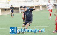 El último partido de ensayo de los albirrojos fue en Quillota ante San Luis.