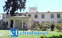 Hospital de Los Andes, donde se encuentra internado el hombre que resultó contagiado con corona virus.