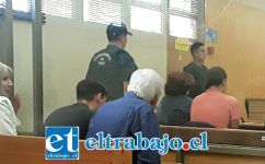 Los imputados en la audiencia de formalización quedaron en prisión preventiva, presentando una apelación en el caso de la imputada, la cual fue rechazada.