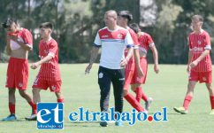Jorge Acuña debutó como entrenador dirigiendo al equipo U17 del Uní Uní.