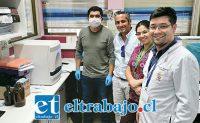 Representantes de Sopraval hicieron entrega del equipo al Hospital San Camilo de San Felipe.