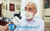 El municipio está realizando diversas tareas para que la gente se quede en sus casas aseguró el alcalde Patricio Freire.