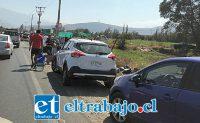 Una verdadera feria fue la que se instaló el domingo pasado en Encón, luego que se prohibiera el funcionamiento de la feria de Diego de Almagro.