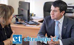 Francisco Alvarez, Seremi de la Salud de la Quinta Región.