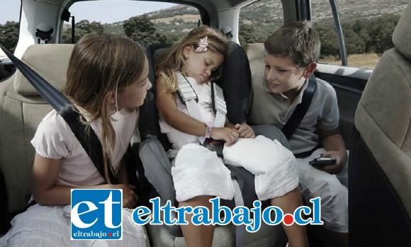 A partir del 16 será obligatorio utilizar algún sistema de retención infantil.