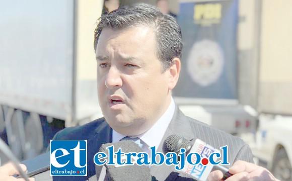 Jefe de la BIRO de la PDI, Germán López.