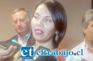 Seremi de Salud de Valparaíso, María Graciela Astudillo.