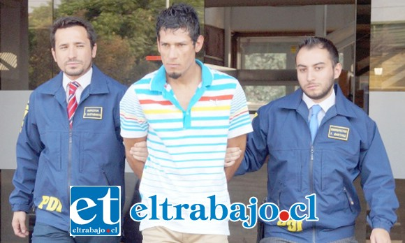 El presunto homicida Matías Carvajal Cortés, alias 'El Potacha', quedó tras las rejas a la espera de ser enjuiciado por el crimen ocurrido en Catemu.