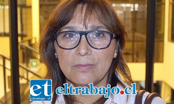 Elizabeth Reyes, presidenta de la Federación de Taxis-colectivos de San Felipe.