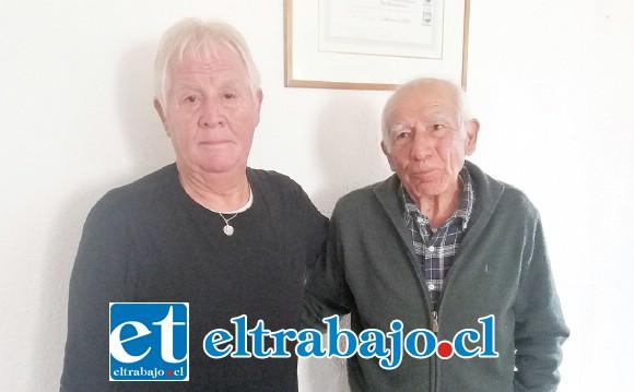 Salvador Gálvez y Antonio Villarroel están al frente de un festival para ir en ayuda de Víctor 'Sapito' Andrade.