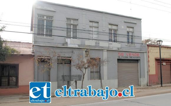 La casa que habitó Gabriela Mistral en el sector de Coquimbito, en Los Andes, inmueble que será adquirido para convertirlo en un verdadero museo de la premio Nobel chilena.