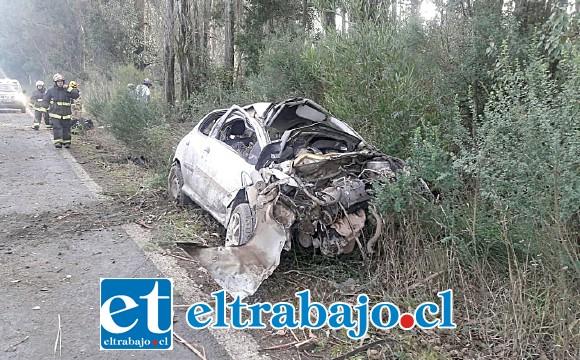 El funcionario policial falleció tras las graves lesiones sufridas en el accidente de tránsito.