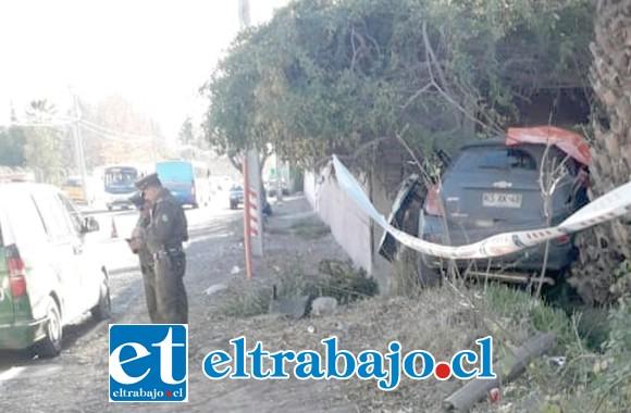 El fallecido fue identificado como Benito Madariaga Labra de 37 años de edad, residente en el sector de Curimón.