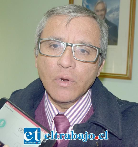Patricio Moreno Bustamante, director del Liceo República Argentina de Los Andes (ex Jefe Daem Putaendo).
