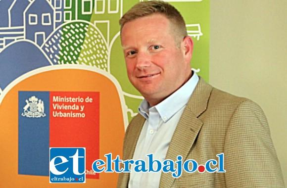 Tomás Ochoa Capelli, director del Serviu Valparaíso.