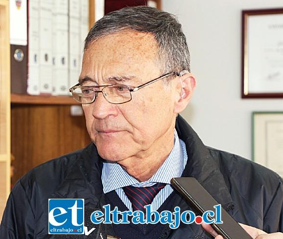 Guillermo Orellana, director de Tránsito.