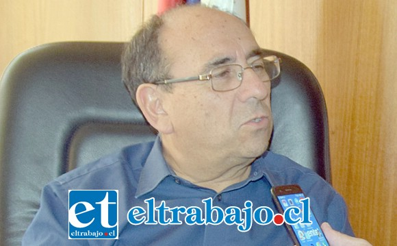 El gobernador Claudio Rodríguez habló ayer con Diario El Trabajo en su despacho.