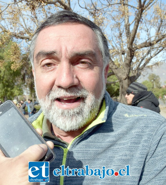 Danilo Peña, encargado de Deportes de la Municipalidad de San Felipe.